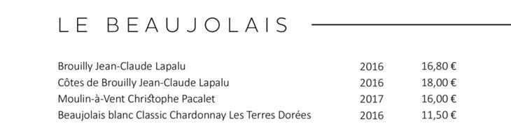 Découvrez la sélection des vins du Beaujolais des Caves de Joseph : Beaujolais Village, Brouilly, Côtes de Brouilly ...